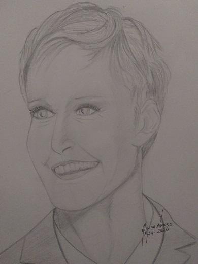 Ellen DeGeneres par Vinna